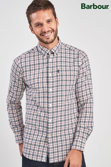 Barbour® White Stapleton Country Check Shirt