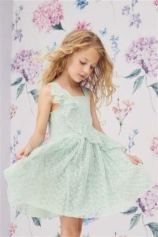 Frill Lace Dress (3-16yrs)
