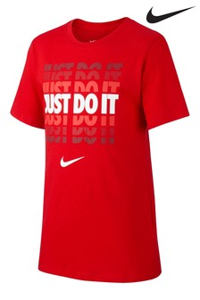 Nike JDI. Red Gradient T-Shirt