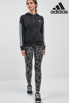 adidas Essential Leggings mit Print, Grau