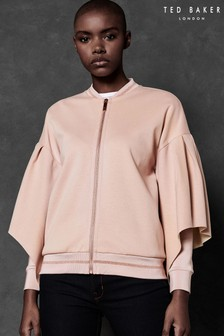 Ted Baker Ted Says Relax Pink Full Sleeve Sweat