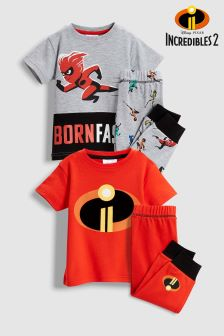 Incredibles™ Pyjamas Two Pack (9mths-12yrs)