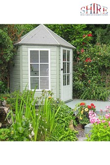 Monaco Assembled Painted Gazebo Summer House