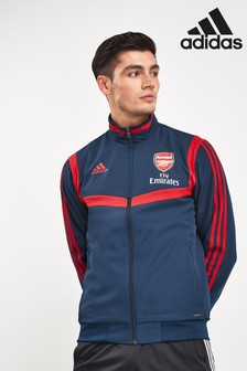 adidas Navy Arsenal Football Club Pre Jacket