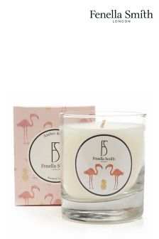 Fenella Smith Flamingo And Pineapple Candle