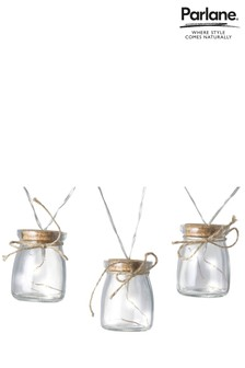 Parlane 8 x Glass Jar Line Lights