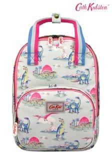Zielony średniej wielkości plecak z dinozaurem Cath Kidston® Kids