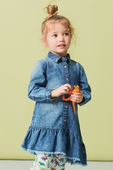 Asymmetric Shirt Dress (3mths-6yrs)