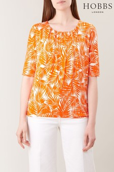 Hobbs Orange Viola T-Shirt