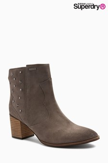 Superdry Stud Ankle Boot