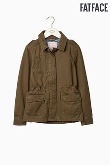 FatFace Green Utility Jacket