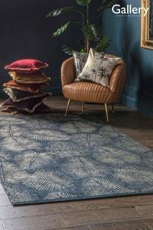 Gallery Direct Charcoal Windsor Gold Leaf Rug