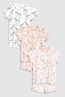Unicorn Short Sets Three Pack (9mths-8yrs)
