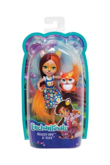 Enchantimals Felicity Fox Doll 6 Inch And Flick Animal Figure