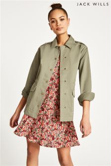 Jack Wills Sage Ferndown Casual Cotton Jacket