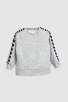 Sleeve Tape Sweat Top (3-16yrs)