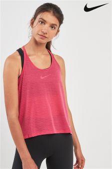Nike Pink Miler Running Tank