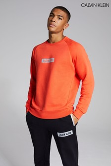 Calvin Klein Coral Box Logo Sweatshirt