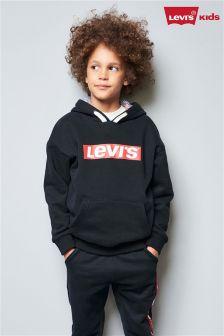 Levi's® Kids Black Logo Overhead Hoody