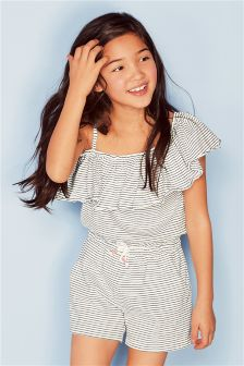 Jersey Ruffle Playsuit (3-16yrs)