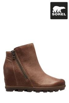 Sorel® Ash Brown Joan of Arctic™ Wedge II Zip Boots