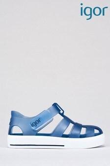 Igor Blue Star Sandals