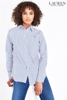 Lauren Ralph Lauren® Blue Stripe Jamelko Shirt