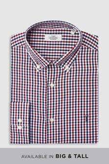 Gingham Regular Fit Shirt