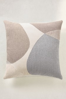 Crewel Work Abstract Cushion