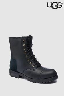 מגפיים מפרווה מלאכותית של UGG® דגם Kilmer Exposed בשחור