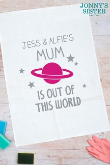 Personalised Mother's Day Tea Towel by Jonnys Sister