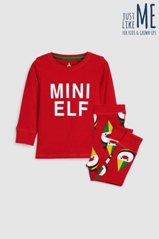 younger kids mini elf pyjamas 9mths 8yrs - Childrens Christmas Pyjamas