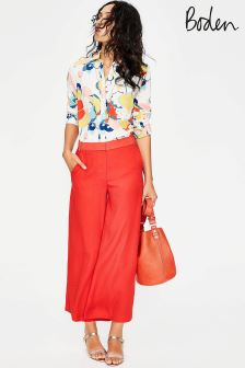 Boden Orange Aurelie Culotte