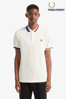 Fred Perry Abstract Tipped Poloshirt