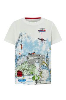 Monsoon Ivory Monsoon Louis London Tee