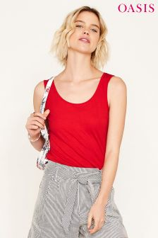 Oasis Red Core Vest