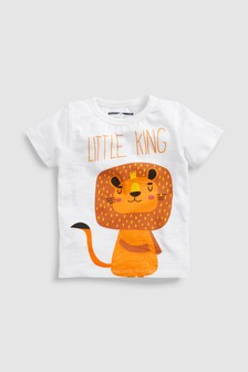Lion Short Sleeve T-Shirt (3mths-6yrs)