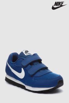 Nike Blue MD Runner Velcro