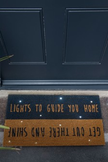 Light Up Words Doormat