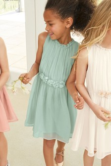 Corsage Dress (3-16yrs)