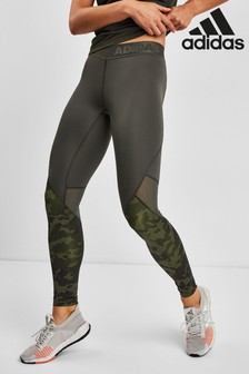 adidas Alphaskin Camo Leggings
