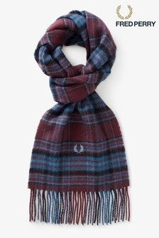 Fred Perry Winter Tartan Scarf