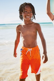 Colourblock Swim Shorts (3-16yrs)