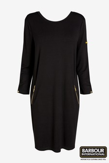 Barbour® International Black Oversized Dress
