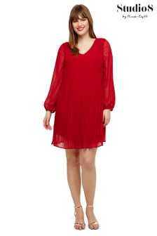 Studio 8 Red Fontaine Dress