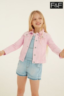 F&F Pink Denim Jacket