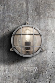 Industville Round Heavy Bulkhead Wall Light