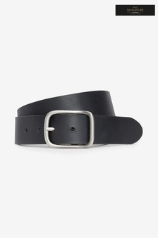 Signature Italian Leather Full Buckle Belt