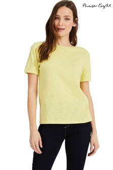 Phase Eight Yellow Elspeth T-Shirt