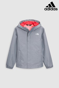 The North Face® Grey and Pink Resolve Jacket